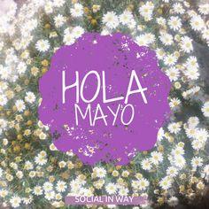 Bienvenido Mayo!!!...¿Por qué conformarse con una margarita??...El campo está lleno!!! #quotes #frases #diseño