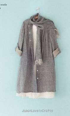 Simple Style Dress by Machiko Kayaki by JapanLovelyCrafts on Etsy