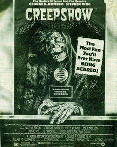 Stephen King's CREEPSHOW is een Amerikaanse horror-komedische anthologiefilm geregisseerd door George A. Romero, en geschreven door Stephen King. Toen de film in november 1982 in Amerika uitkwam, was hij een enorme hit en bracht alleen daar al meer dan 21 miljoen dollar op.