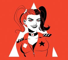 Harley Quinn by Elsa Charretier