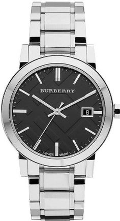 Men's Wrist Watches - Burberry Large Check Stainless Steel Mens Watch BU9001 ** Be sure to check out this awesome product. (This is an Amazon affiliate link)