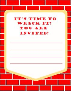 Wreck-It Ralph Birthday Party Ideas and Supplies
