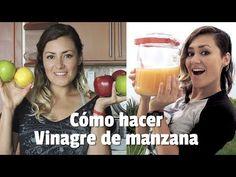Cómo hacer Vinagre de manzana en casa - YouTube