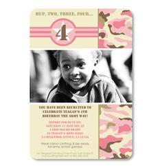 Pink Bootcamp - Kids Girls Birthday