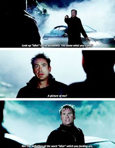 "Robert Downey Jr. and Val Kilmer in ""Kiss Kiss Bang Bang"" -- a great movie!  If you haven't seen it, you must!"