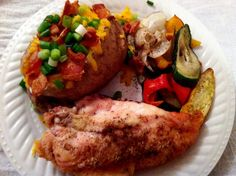 Step by step for simple and simply delicious roasted chicken, potatoes & veggies