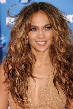 JLO. Want my hair to do this.