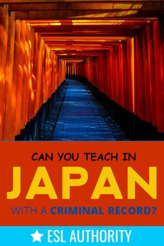 A blog about teaching in Japan - get advice on how finding and applying for jobs, living in Japan, and how to enjoy your time as an ESL teacher! Teach English In Japan, Teaching English, Teaching In Japan, School Pay, Work Visa, Criminal Record, How To Apply, How To Get, Private School
