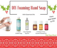 Great for gift-giving and easy to make! For essential oils, visit http://www.oilydaysahead.com #oilydaysahead