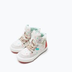 CANDY PRINT HIGH-TOPS-Shoes-Baby girl (3 months - 3 years)-KIDS | ZARA United States