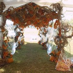 Fall wedding idea...now this is a plan!