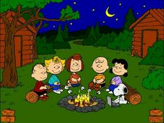 The power and fun of the campfire!  Passing on from generation to generation...:)