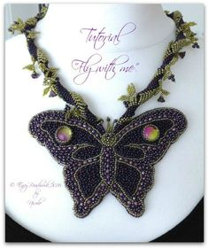 Tutorial Fly with me in English di EnvyBeadwork su Etsy