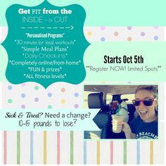 A Journey to Get Fit, From Home: ***TWO SPOTS LEFT!!!***If you have been feeling ...