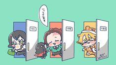 Anime Demon, Manga Anime, Anime Art, Demon Slayer, Slayer Anime, Manhwa, Satsuriku No Tenshi, Cute Anime Pics, Anime Animals