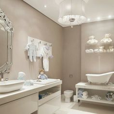 Adorable baby bathroom