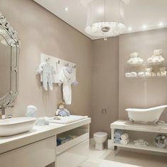 Adorable baby bathroom