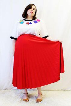 Plus Size - Vintage Navy High Waist Culotte Shorts (Size 1X)