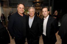 Lionheart Capital Celebrates the Grand Opening of the Sales Gallery for The Ritz-Carlton Residences Miami Beach. | MetroCitizen Magazine. Chad Oppenheimer, Alan Ojeda, & Diego Ojeda.