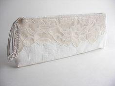 Elegant wedding purse