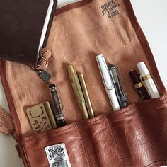 What's In My Pen Roll • At the moment... Tagged by my sweet friend…