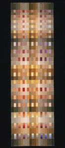 Philadelphia Museum of Art - Collections Object : Woven Textile: Apollo.  Richard Landis; 1993 12 x 41 inches.