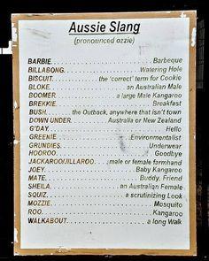 Australian dictionary - translate Australian slang to English and radio alphabet Australian Memes, Aussie Memes, Australian Party, Australian English, Brisbane, Perth, Sydney, Melbourne, Australia Day