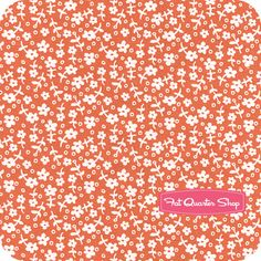 Children at Play Cotton Coral Wallpaper Flowers Yardage SKU# DC5145-CORA-D - Fat Quarter Shop