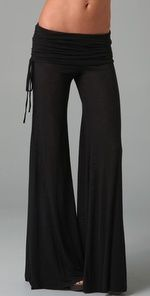 Love theses Sierra pants in black and natural