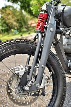 Motorcycle Front Suspension Fork