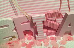 Letras para mesas dulces