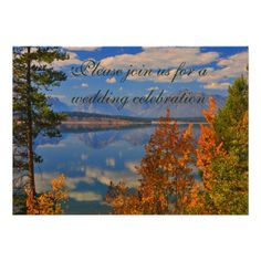 DealsGrand Teton Autumn Fall Country Wedding Invitationonline after you search a lot for where to buy