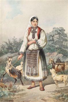 View Cu caprele by Carol Popp de Szathmari on artnet. Browse upcoming and past auction lots by Carol Popp de Szathmari. Animal Masks, Folk Fashion, Drawing People, Romania, Renaissance, Folk Art, Goats, Medieval, Art Gallery