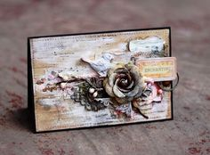 Sunshine Studio: Mixed-media card