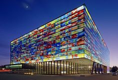 Nederlands Institute for Sound and Vision, Neutelings Riedijk Architects, Geluid, Hilversum, Netherlands