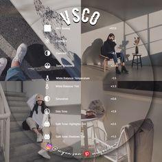 Photography Editing Apps, Photo Editing Vsco, Instagram Photo Editing, Photography Filters, Instagram Feed, Vsco Hacks, Foto Filter, Best Vsco Filters, Vsco Themes