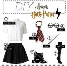 Harry Potter Halloween costume.