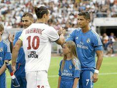 Zlatan Ibrahimovic & Cristiano Ronaldo