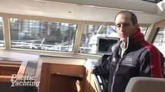 Pacific Yachting gets to know more about the Hybrid Greenline 40 with Bosun Yacht Sales at the 2013 Vancouver Boat Show. Take a tour with Pacific Yachting! Leather Jacket, Magazine, Studded Leather Jacket, Leather Jackets, Magazines, Warehouse, Newspaper