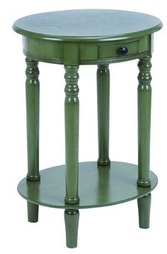 End Table I