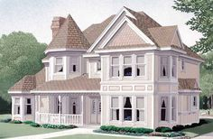 Farmhouse House Plan with 2406 Square Feet and 3 Bedrooms(s) from Dream Home Source | House Plan Code DHSW72805