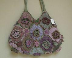 Sophie Digard Purses | Geranium wool purse Sophie Digard