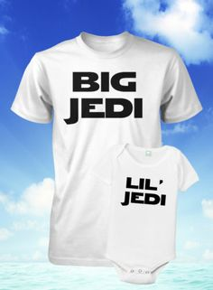 Father and Son JEDI SHIRTS by Funhouse Shirts.....$33.00 FREE SHIPPING