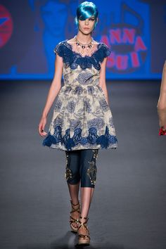Anna Sui Spring 2013 Ready-to-Wear Fashion Show - Meghan Collison
