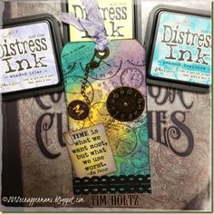 Using Spring Seasonal Distress Inks