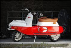 máte rádi staré motorky ČEZETA 506 ELECTRIC na elektřinu.