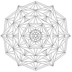 Geometric Coloring Pages, Mandala Coloring Pages, Colouring Pages, Mandala Drawing, Mandala Art, Crystal Mandala, Chip Carving, Carving Wood, Free Adult Coloring