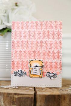 so sorry {mama elephant stamp highlight}