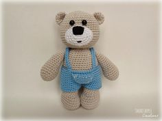 As I have two little girls at home then my created amigurumi creatures are also usually girls. This time I decided to make knowingly a bo...