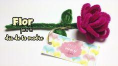 Se acerca mayo, un mes dedicado a las madres, y, para todas ellas, vamos a aprender a elaborar regalos muy especiales. Por ejemplo, estas rosas hechas con limpia pipas. ¿Qué os parece?